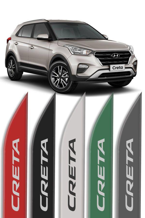 Friso Lateral Personalizado Hyundai Creta  - Só Frisos Ltda