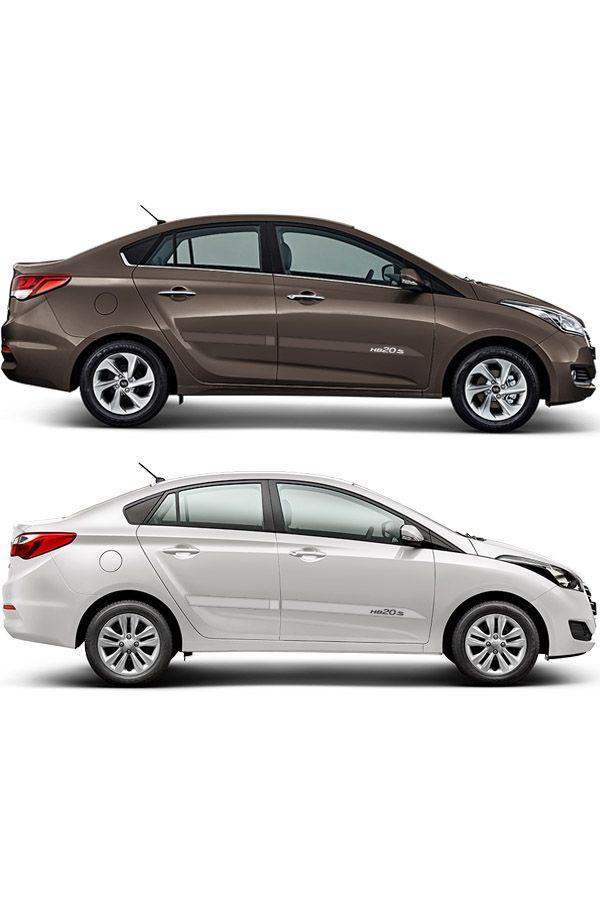 """Friso Lateral Personalizado """"Modelo Faca"""" Hyundai HB20S  - Só Frisos Ltda"""