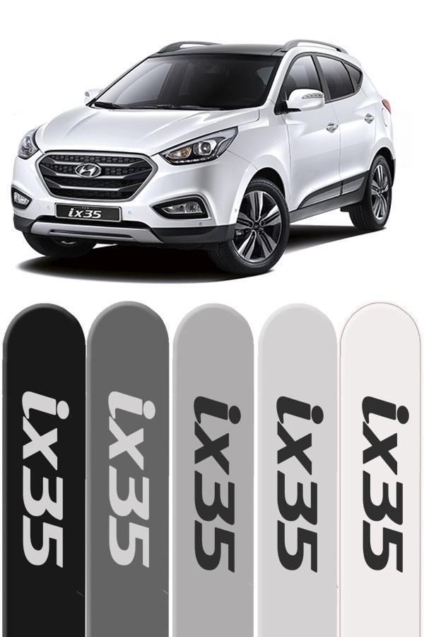 Friso Lateral Personalizado Hyundai IX35  - Só Frisos Ltda