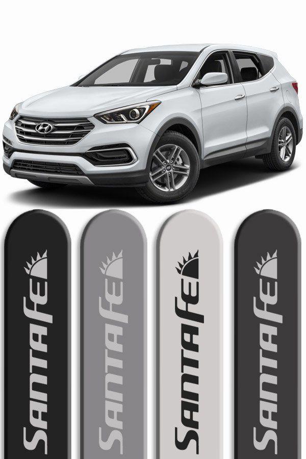 Friso Lateral Personalizado Hyundai Santa Fé  - Só Frisos Ltda