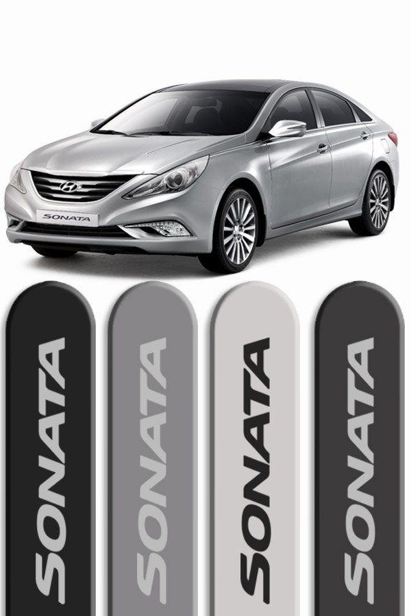 Friso Lateral Personalizado Hyundai Sonata  - Só Frisos Ltda