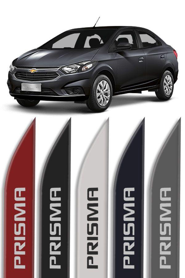 """Friso Lateral Personalizado Modelo """"Faca"""" Chevrolet Prisma  - Só Frisos Ltda"""