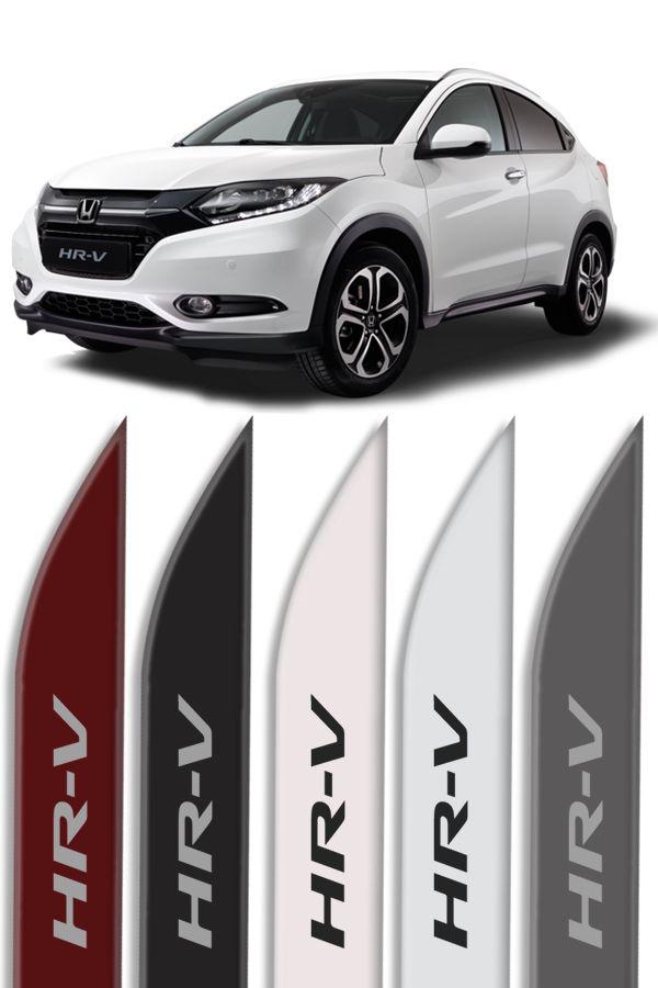 """Friso Lateral Honda HRV Modelo """"Faca""""  - Só Frisos Ltda"""