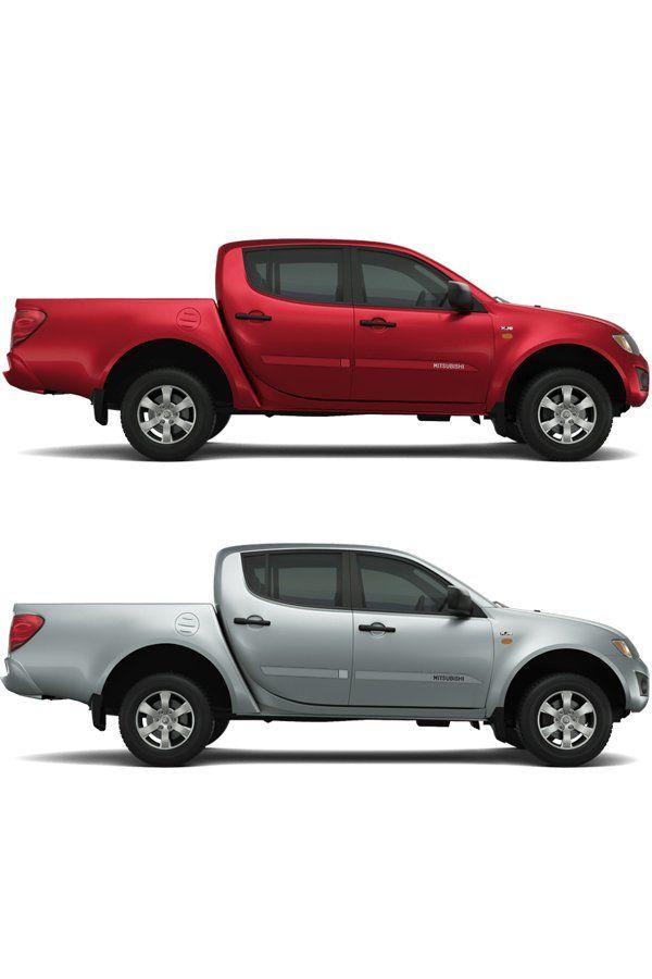 "Friso Lateral Personalizado ""Modelo Faca"" Mitsubishi L200  - Só Frisos Ltda"