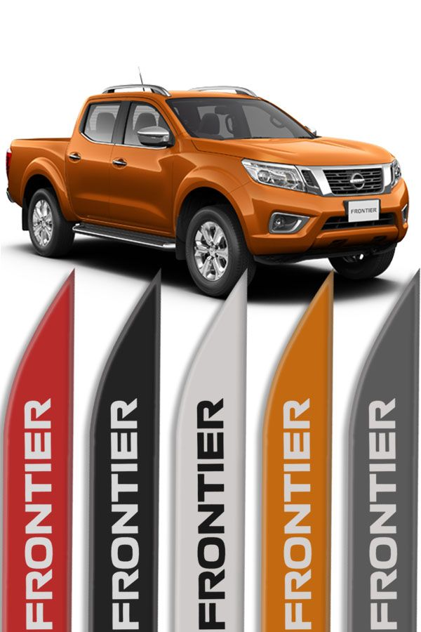 Friso Lateral Nissan Frontier Modelo