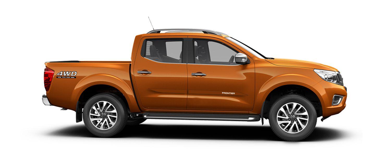 """Friso Lateral Nissan Frontier Modelo """"Faca""""   - Só Frisos Ltda"""