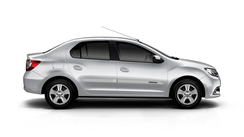 "Friso Lateral Personalizado ""Modelo Faca"" Renault Logan  - Só Frisos Ltda"