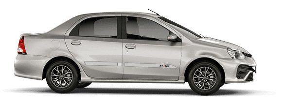 """Friso Lateral Personalizado """"Modelo Faca"""" Toyota Etios  - Só Frisos Ltda"""