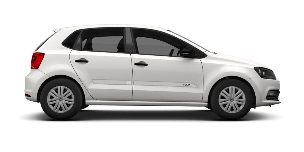"""Friso Lateral Personalizado """"Modelo Faca"""" Volkswagen Novo Polo  - Só Frisos Ltda"""