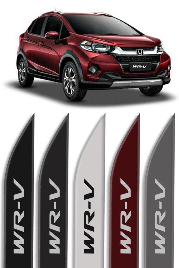"""Friso Lateral Personalizado Modelo """"Ponta Faca"""" Honda WRV  - Só Frisos Ltda"""