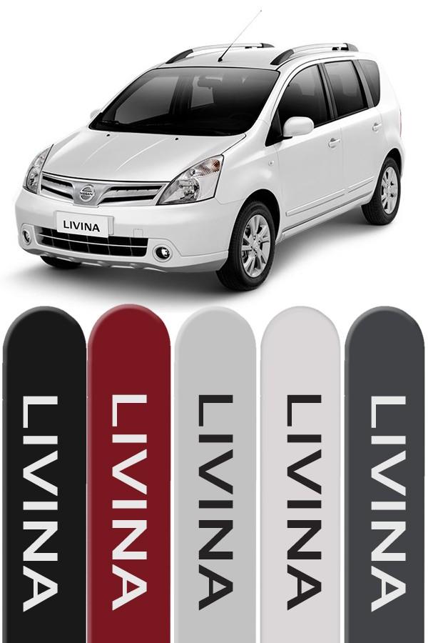 Friso Lateral Personalizado Nissan Livina  - Só Frisos Ltda