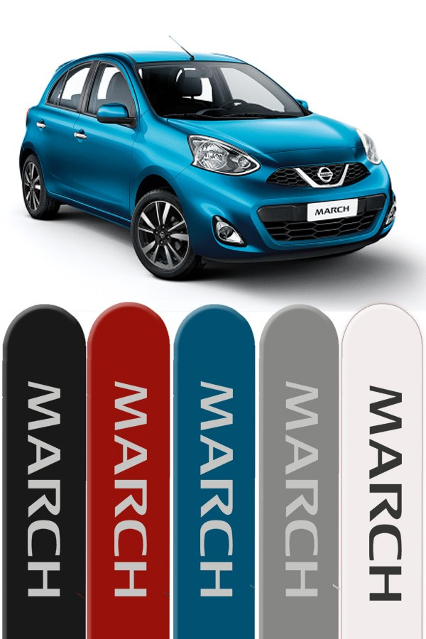 Friso Lateral Personalizado Nissan March