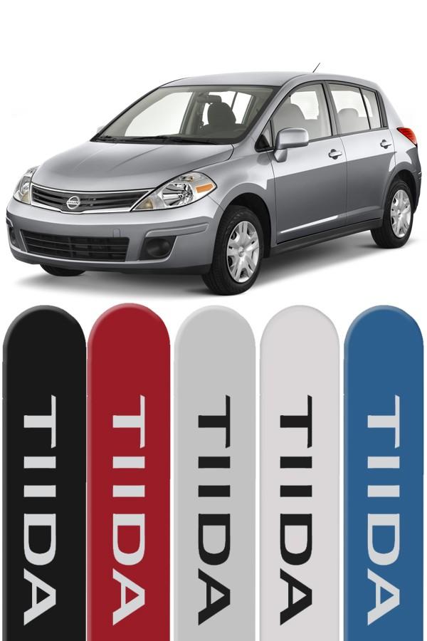 Friso Lateral Personalizado Nissan Tiida  - Só Frisos Ltda