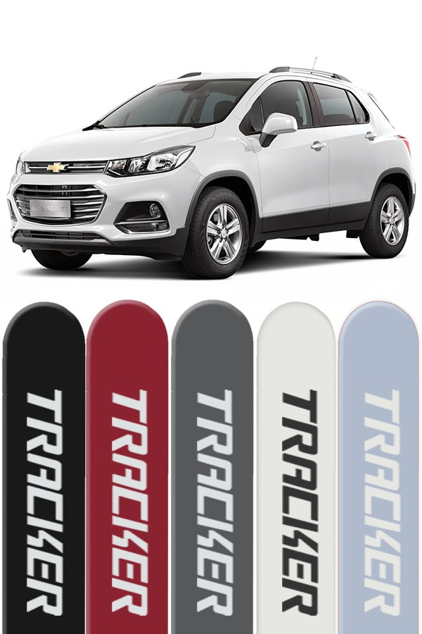 Friso Lateral Personalizado Nova Chevrolet Tracker  - Só Frisos Ltda
