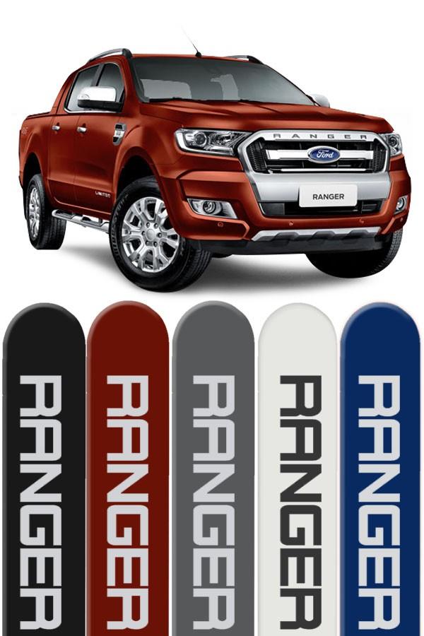 Friso Lateral Personalizado Nova Ford Ranger   - Só Frisos Ltda