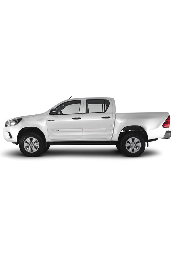 Friso Lateral Personalizado Toyota Hilux 2010/...  - Só Frisos Ltda