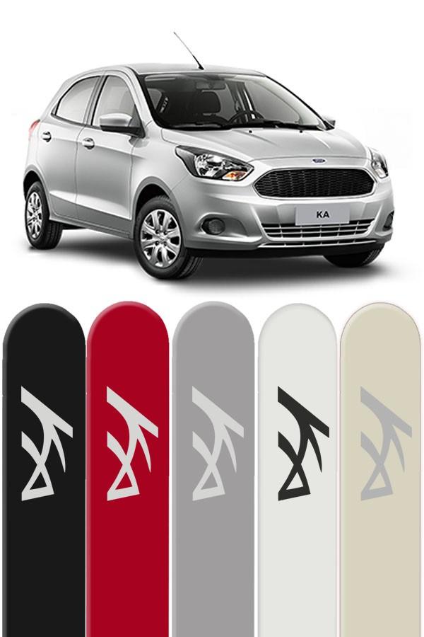 Friso Lateral Personalizado Novo Ford Ka  - Só Frisos Ltda