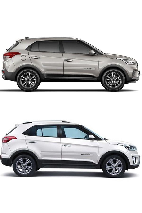 Friso Lateral Personalizado Hyundai Creta Ponta Redonda  - Só Frisos Ltda