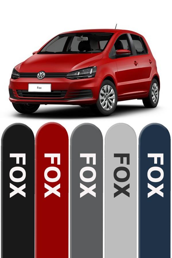 Friso Lateral Personalizado Novo Volkswagen Fox   - Só Frisos Ltda
