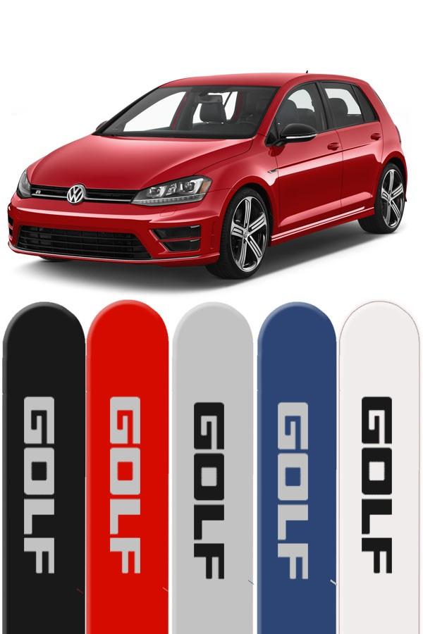 Friso Lateral Personalizado Novo Volkswagen Golf  - Só Frisos Ltda