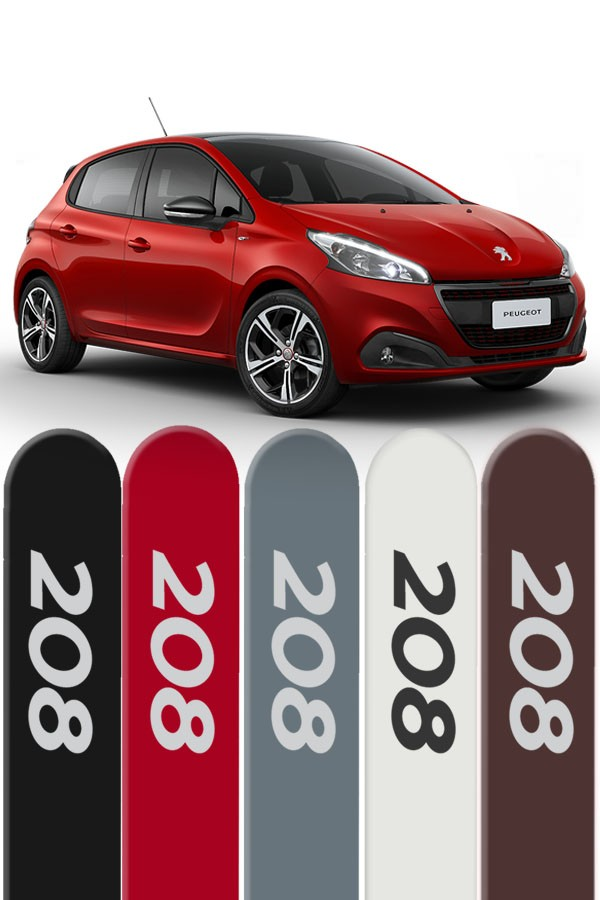 Friso Lateral Personalizado Peugeot 208 2013/...