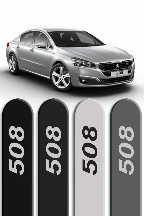 Friso Lateral Personalizado Peugeot 508