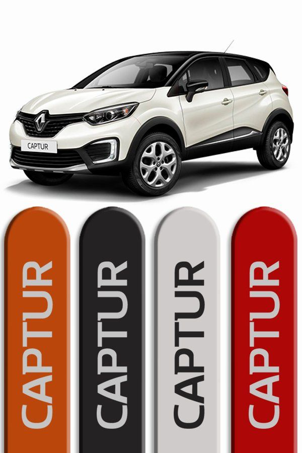 Friso Lateral Personalizado Renault Captur  - Só Frisos Ltda