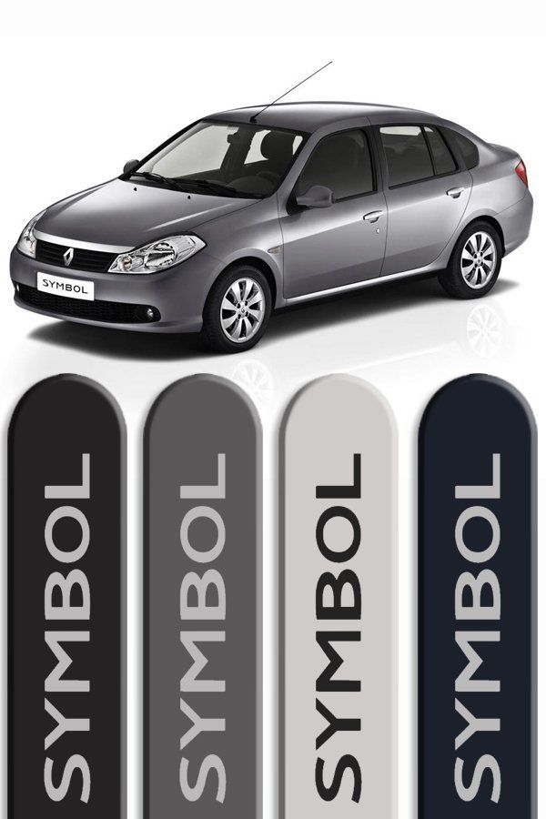Friso Lateral Personalizado Renault Symbol  - Só Frisos Ltda