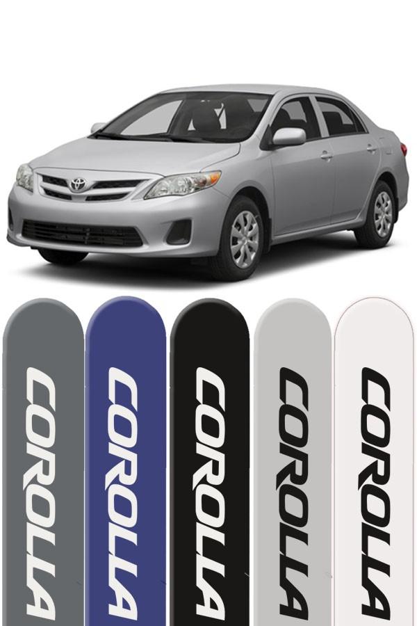 Friso Lateral Personalizado Toyota Corolla até 2014  - Só Frisos Ltda