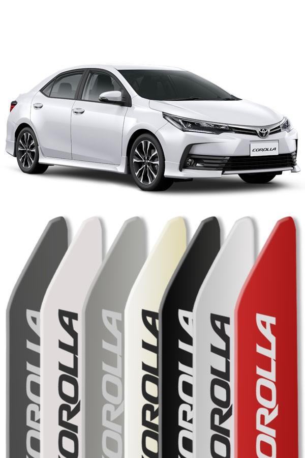 Friso Lateral Personalizado Toyota Corolla 2014/...  - Só Frisos Ltda