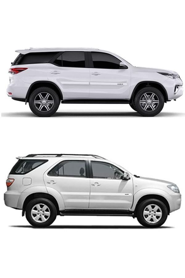 Friso Lateral Personalizado Toyota SW4 2012/...  - Só Frisos Ltda