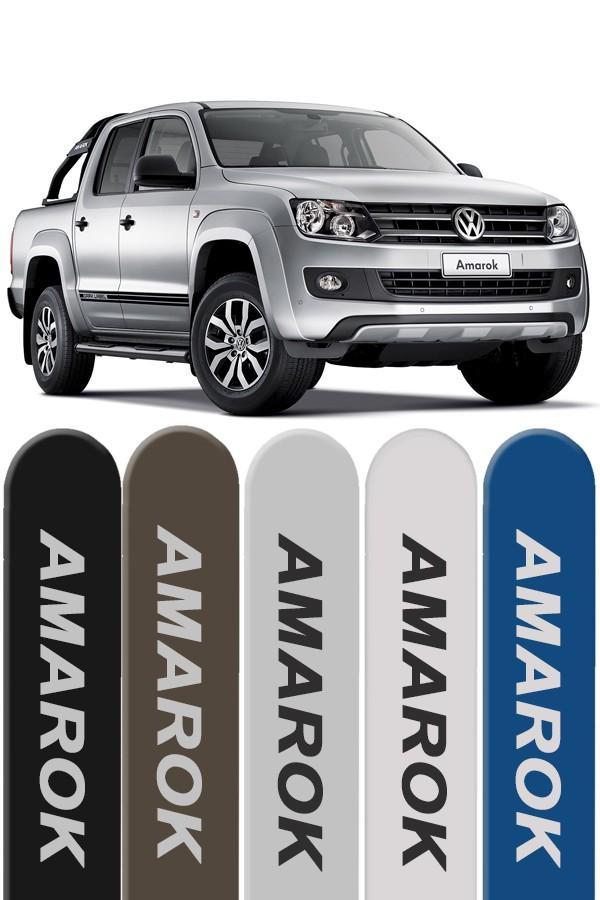 Friso Lateral Personalizado Volkswagen Amarok CD  - Só Frisos Ltda