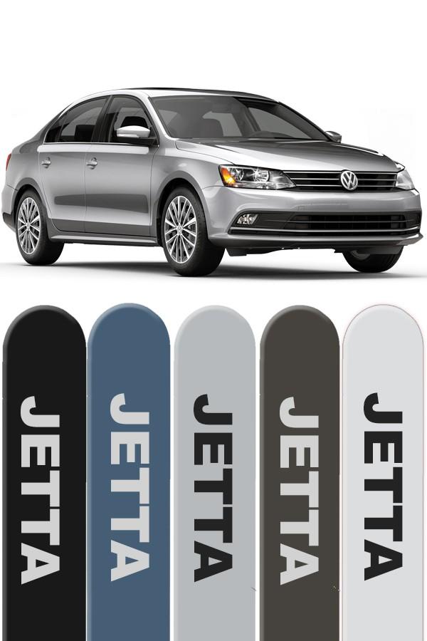Friso Lateral Personalizado Volkswagen Jetta  - Só Frisos Ltda
