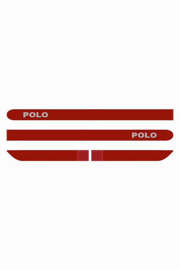 Friso Lateral Personalizado Volkswagen Novo Polo  - Só Frisos Ltda
