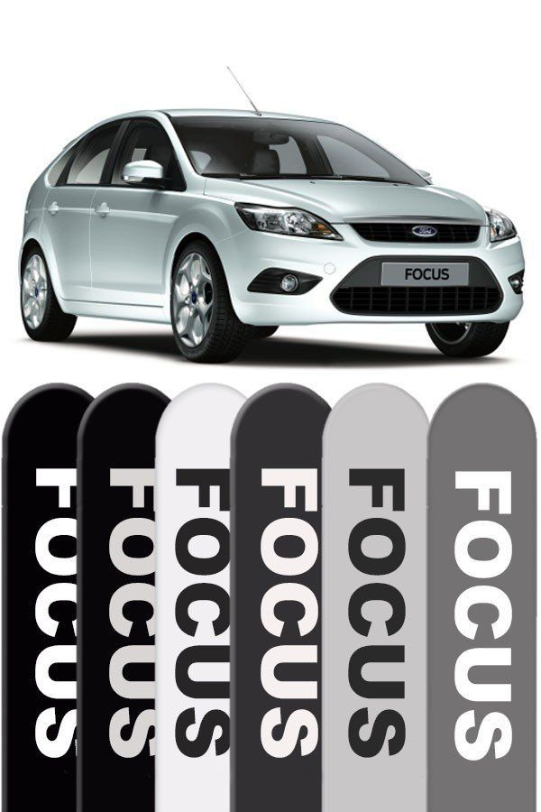 Friso Lateral Pintado Ford Focus