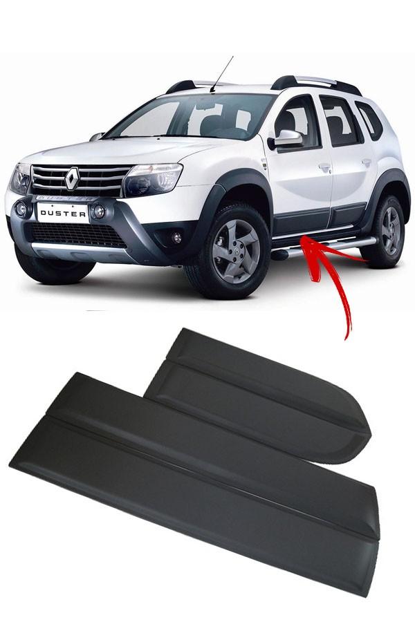 "Friso Lateral Renault Duster ""Modelo Largo"" S/Grafia  - Só Frisos Ltda"