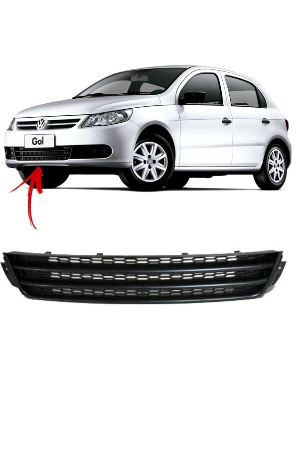 Grade Dianteira Para Choque Inferior Volkswagen Gol  - Só Frisos Ltda