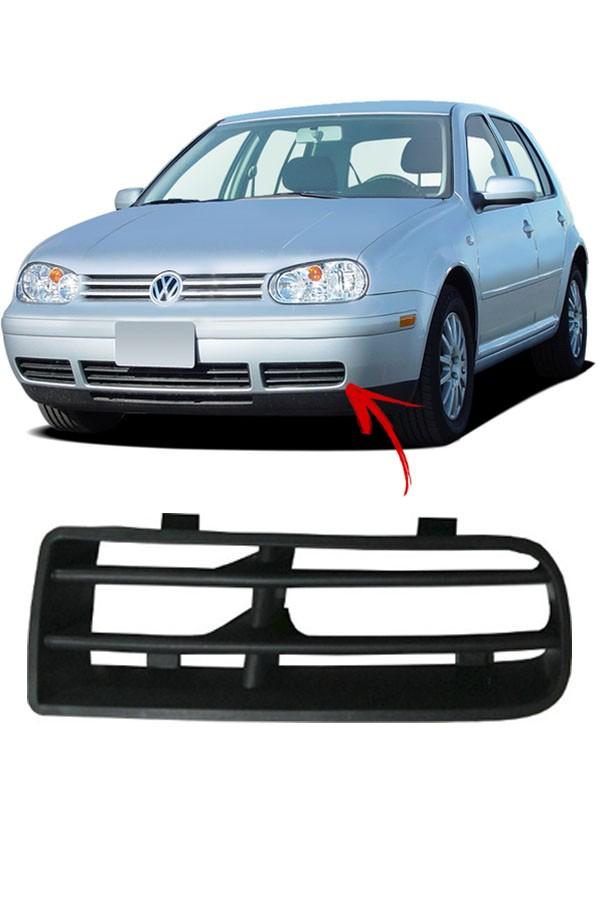 Grade Inferior Para-Choque Dianteiro S/Milha Volkswagen Golf 2000 até 2007