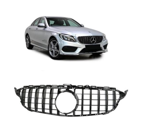 Grade Mercedes Benz C180 C200 C250 14 a 18 AMG GTR  - Só Frisos Ltda
