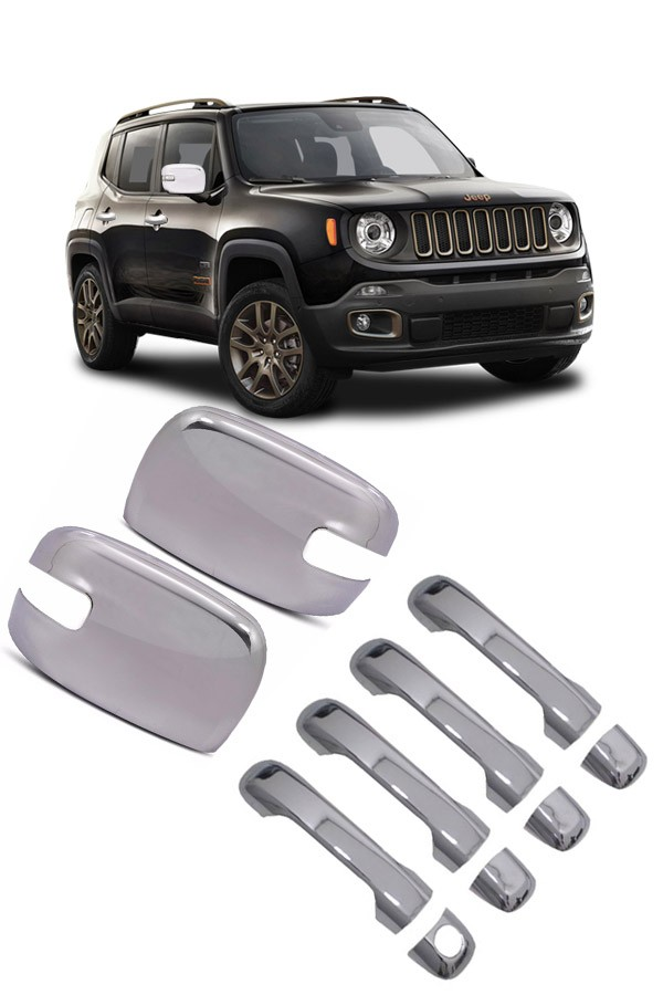Kit Aplique Cromado Jeep Renegade