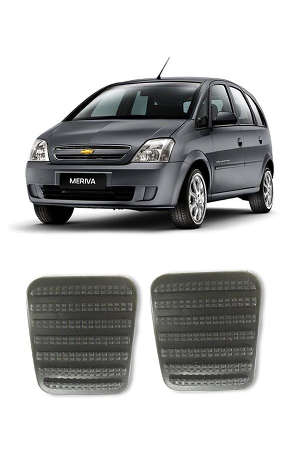 Kit Capa de Pedal Chevrolet Meriva  - Só Frisos Ltda