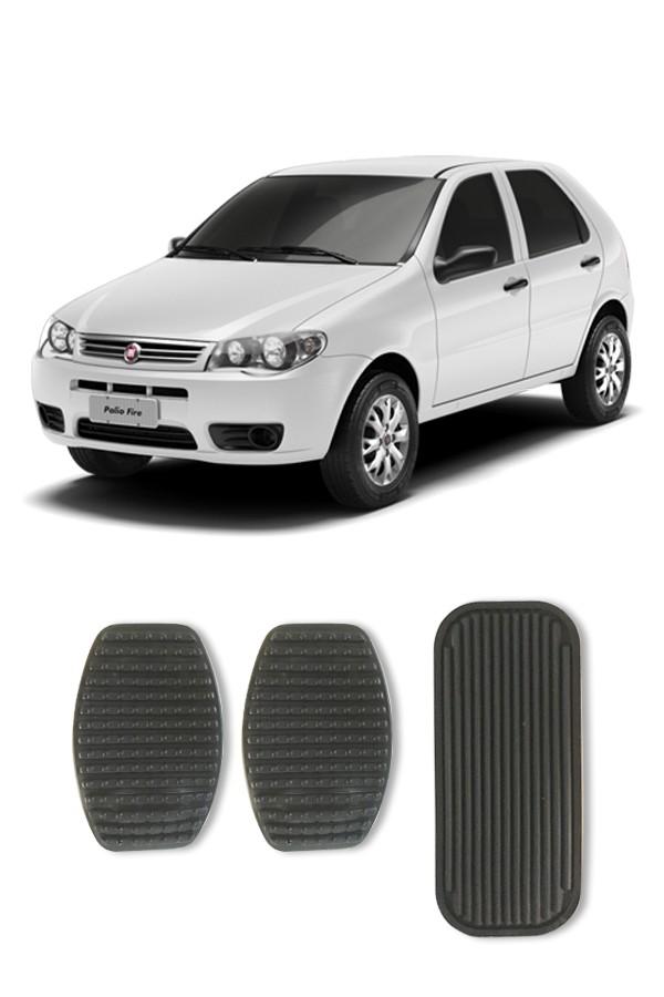 Kit Capa de Pedal Fiat Uno e Palio  - Só Frisos Ltda
