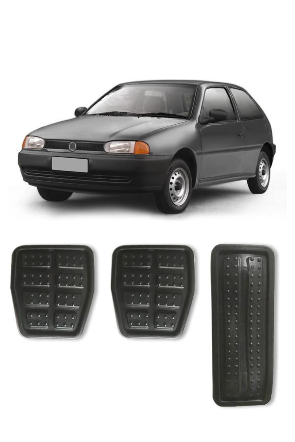 Kit Capa de Pedal Volkswagen Gol 1995 até Geração IV  - Só Frisos Ltda