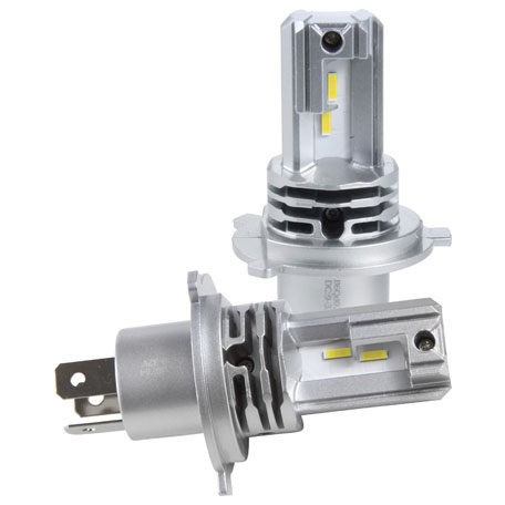 Kit Lampada Led s15 Nano H4 40W 6000k  - Só Frisos Ltda