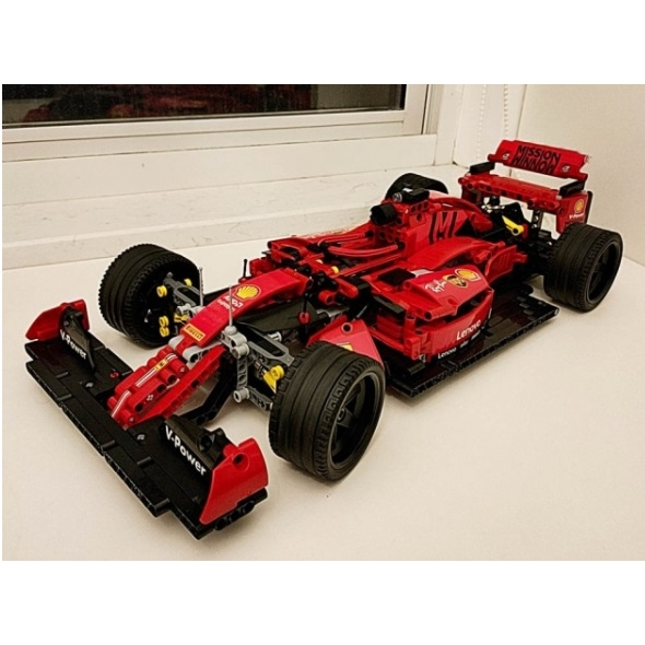 Kit Para Montar Miniatura Carro Ferrari Formula 1 tipo technic
