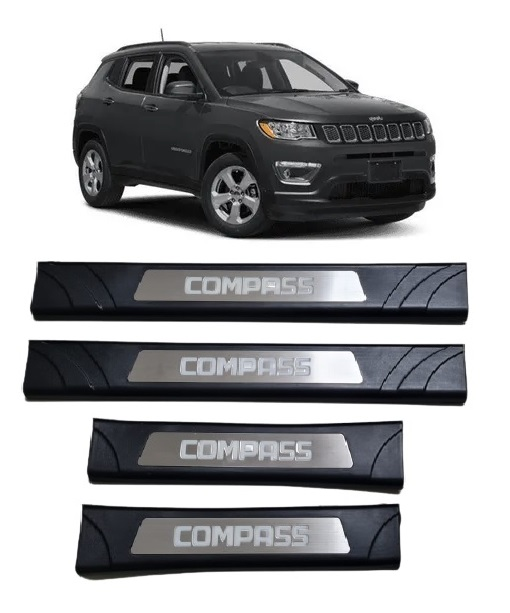 kit Soleira de Porta Compass com Led  - Só Frisos Ltda