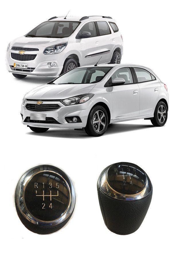 Manopla Bola do Câmbio Linha Chevrolet Onix, Prisma, Cobalt, Sonic  - Só Frisos Ltda