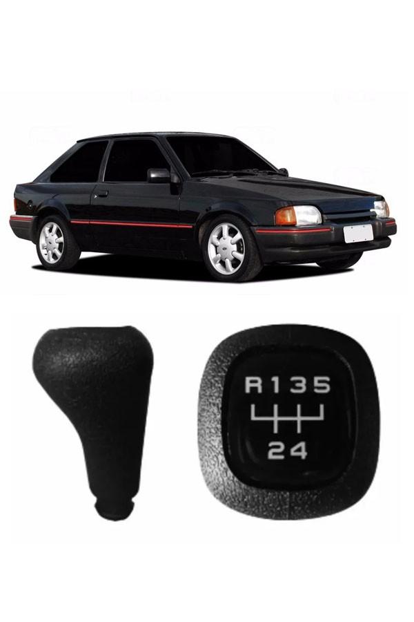 Manopla de Câmbio Ford Ecort Hobby 1993 até 1996
