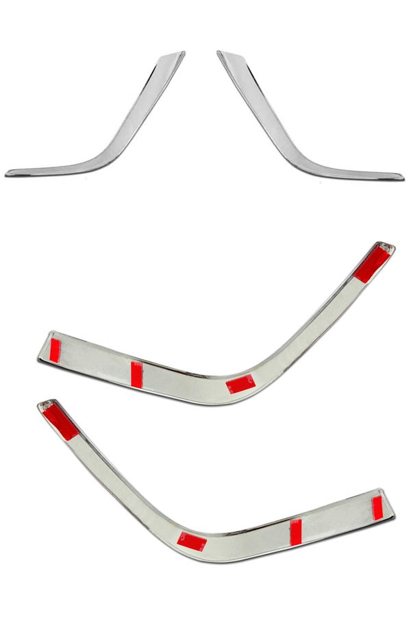 Aplique Cromado Farol de Milha Toyota Corolla 2015 até 2017  - Só Frisos Ltda