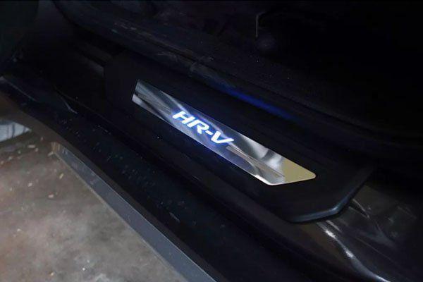 Soleira de Porta de LED Honda HRV  - Só Frisos Ltda
